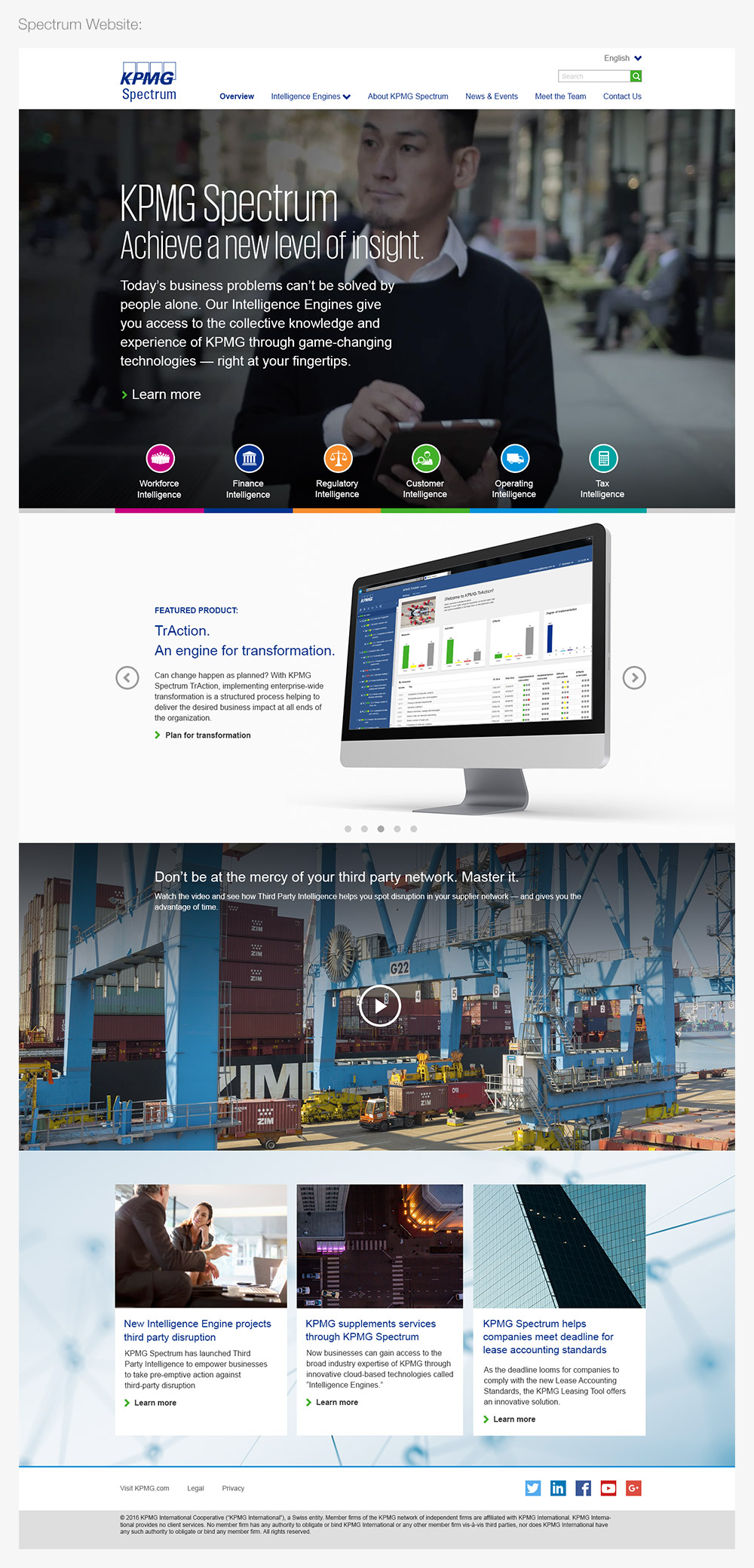 kpmg-spectrum-website